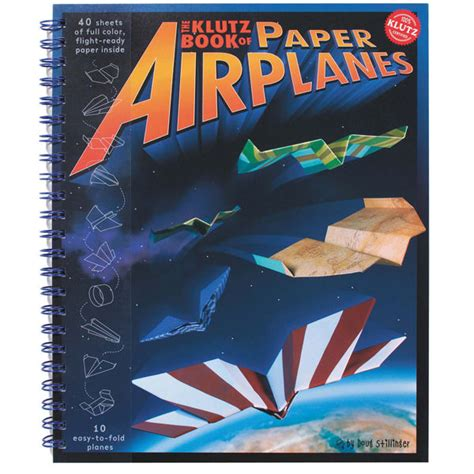 Book On How To Make Paper Airplanes - klutz annies chest the store in
