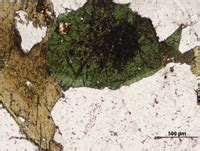 aegirine thin section aegirine