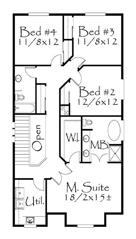 prairie style house plan 4 beds 4 baths 3682 sq ft plan prairie style house plan 4 beds 2 5 baths 2144 sq ft