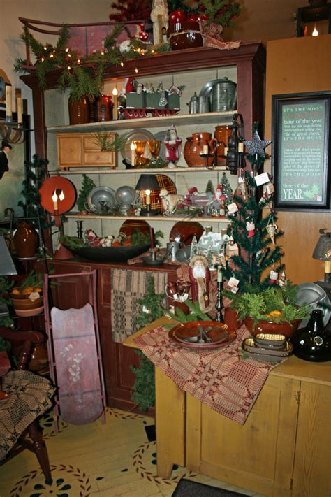 primitive christmas decor primitives pinterest