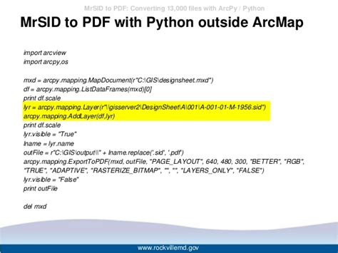 convert pdf to word python mrsid to pdf converting 13000 files with arcpy python