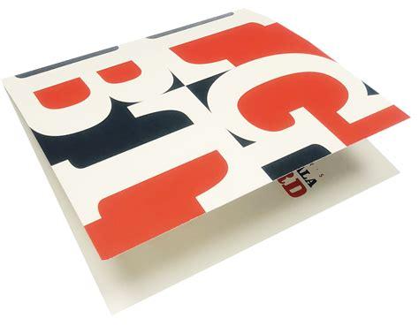 4 color print invitation digital printing folded 4 color print