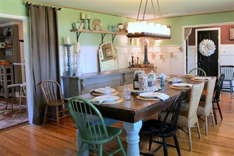 vintage dining room my houzz vintage farmhouse style farmhouse dining