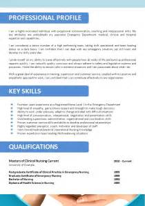 Resume For Nursing In Australia Resume Exle 55 Cv Template Australia Cv Format In Word