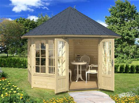 pavillon gross ein gartenhaus aus massivem nadelholz kann seine besitzer