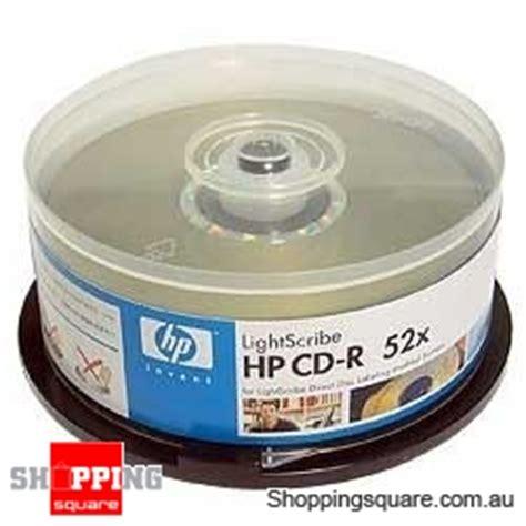 Cd R 52x Hp Slim 10 Pcs hp cd r 52x lightscribe 10 pack shopping shopping square au bargain