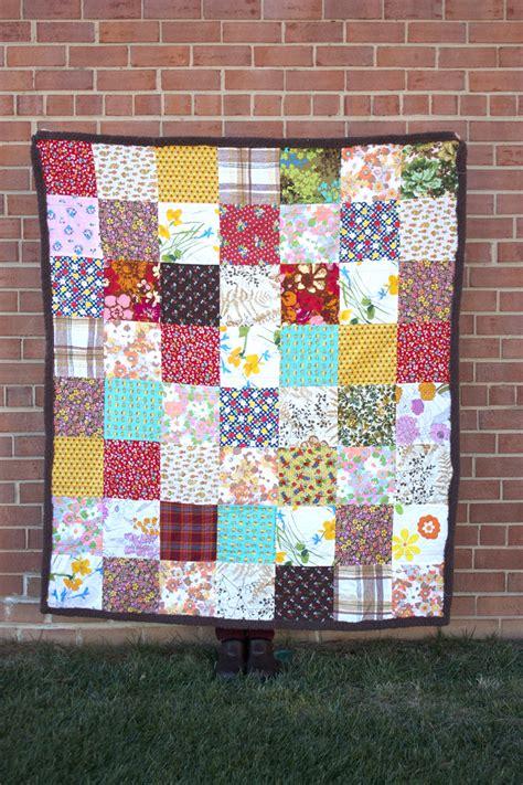 Vintage Patchwork Quilt - vintage patchwork quilt