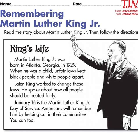 martin luther king biography for students 24 best images about teacher resources on pinterest