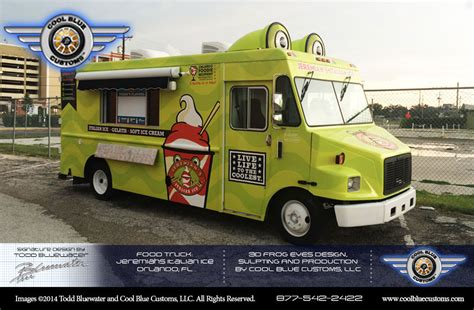 food truck design center cool blue customs launches new package offering complete