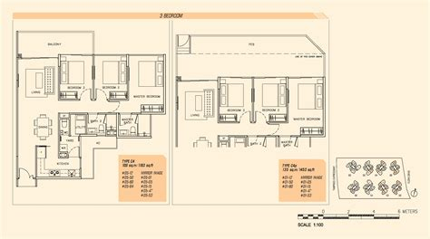 3 bedroom parc olympia
