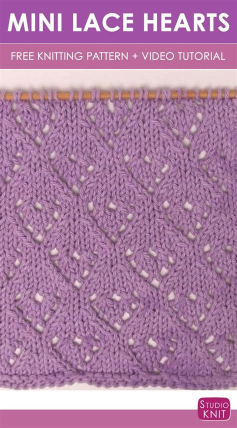 video tutorial knitting 360 best knit stitch patterns vintage images on