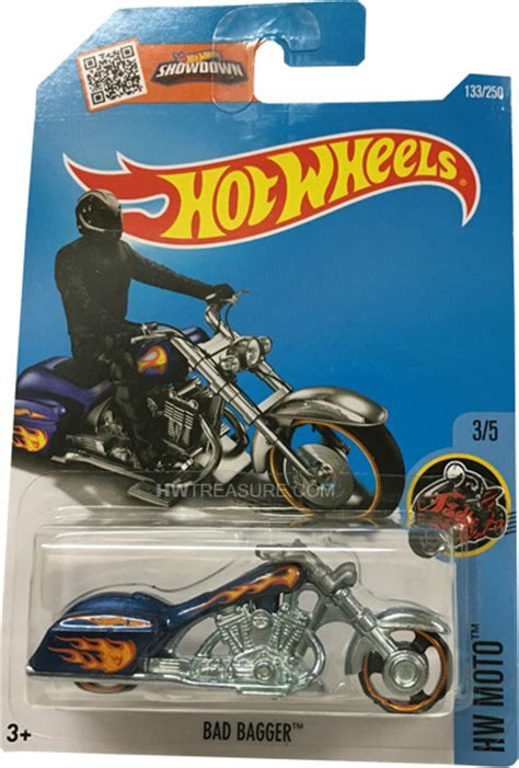 Hotwheels Bad Bagger bad bagger wheels 2016 treasure hunt hwtreasure