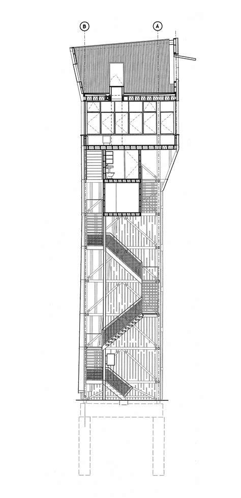 House Architecture Drawing Gallery Of Flashback Towerhouse Marlon Blackwell