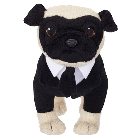 the pug from in black in black iii frank the pug peluche sonore 20 cm jakks pacific jpa39996