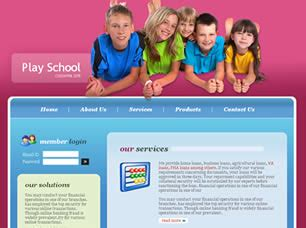 education website templates free html with css play school free website template free css templates