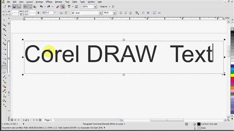 create pattern in corel draw x5 corel draw x5 text tutorial youtube