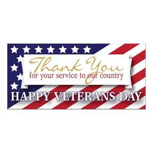 thank you for your service to our country banner m n store