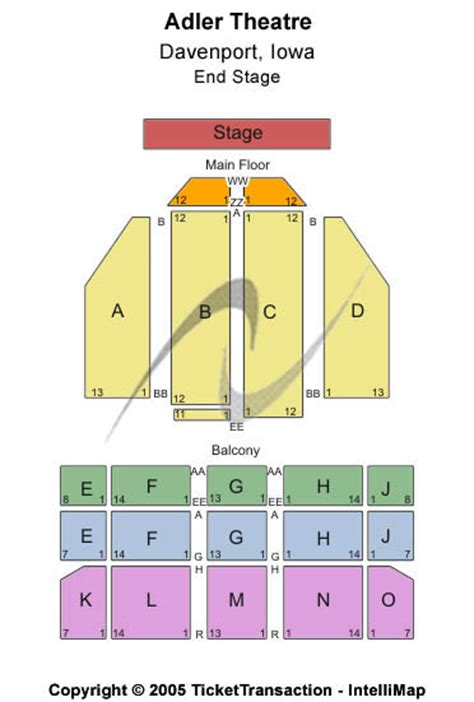 adler theater seating chart cheap adler theatre tickets
