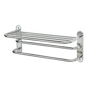 shop gatco essentials chrome metal towel rack at lowes