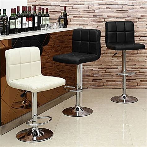 picture of modern leather swivel bar stool with back homall bar stools swivel black bonded leather barstool