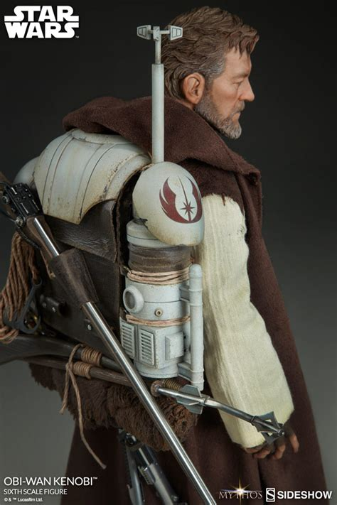 Wars Figure Obi Wan hello there introducing sideshow s 1 6 scale mythos obi