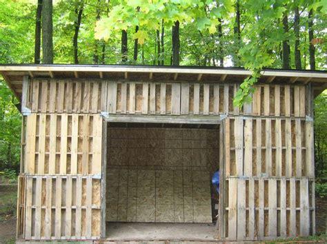 pallet shed building  pallet building pallet shed