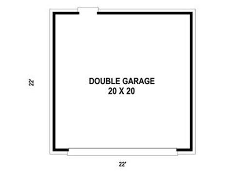 garage door floor plan two car garage plans 2 car garage plan with reverse