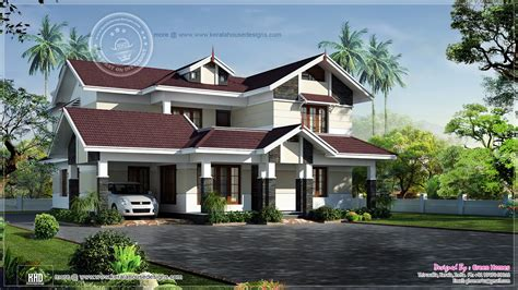One Story Craftsman Style Homes most beautiful houses in kerala most beautiful house in