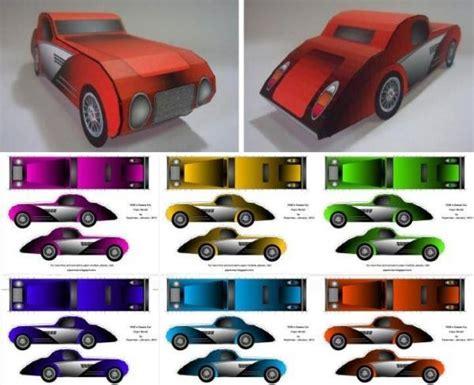 Paper Car - papermau 1930 s classic car paper model by papermau