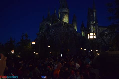 nighttime lights at hogwarts preview the nighttime lights at hogwarts castle