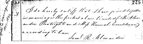 Vigo County Marriage License Records Boat W Right Family History In America