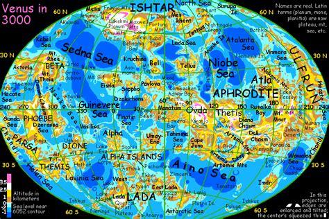 venus map world bank futures venus unveiled