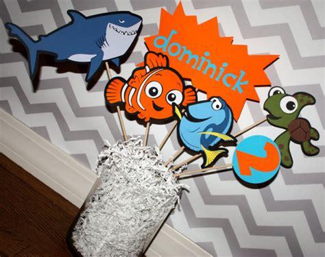 Nemo Decorations by Finding Nemo Birthday Decoration Centerpeice
