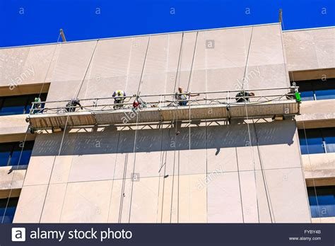swing scaffold roof swing stage swing stages rigging