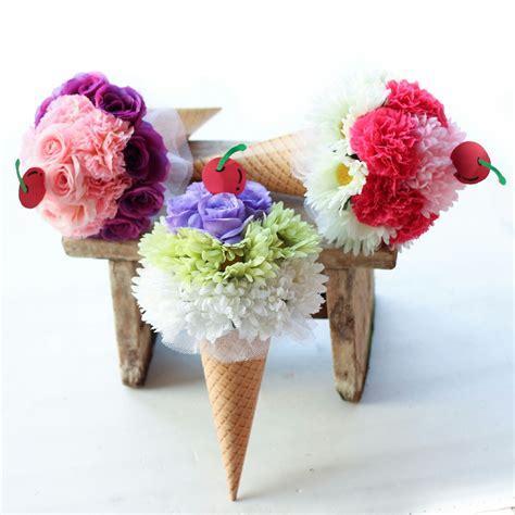 Bunga Flanel Buket Wisuda Kado Ulang Tahun bunga dari kain flanel animegue