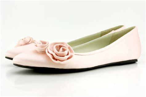 light pink italian silk ballet flats from shoes of prey