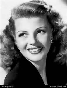 hairstyles for in early 40s classical actresses the 40s rita hayworth