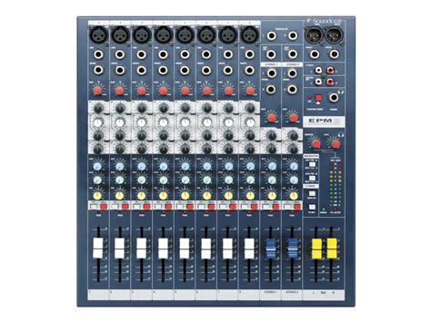 Compact Desk Ideas by Epm8 Soundcraft Professional Audio Mixers