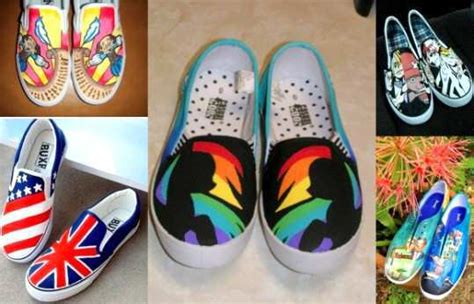 diy painted canvas shoes diy give your canvas shoes a new avatar