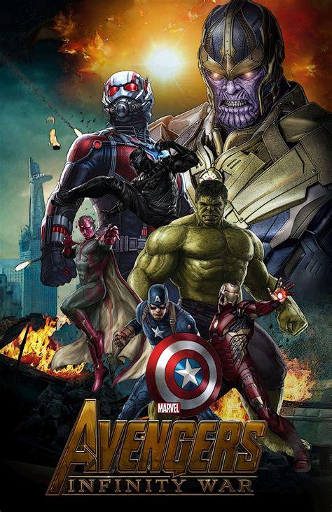 avengers infinity war mcu poster 1 internet marvel