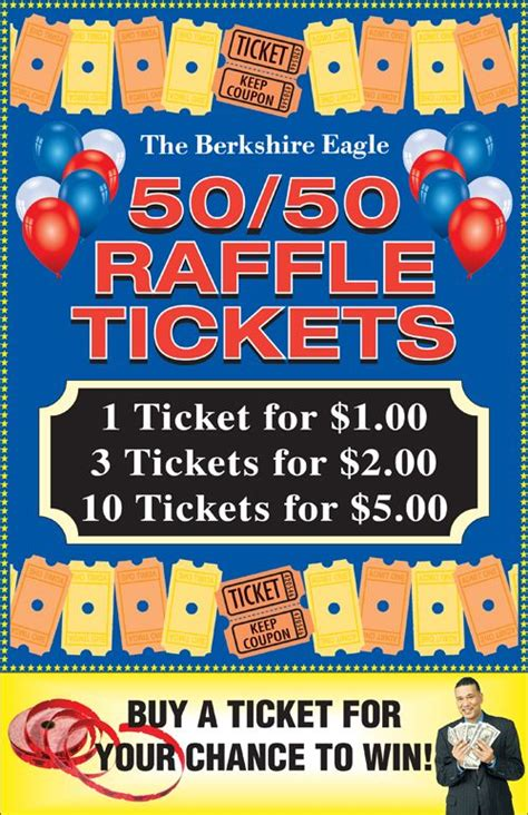 50 50 Raffle Flyer Template Free