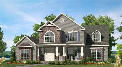 Gambrel Style by Willow Two Story Style Modular Homes