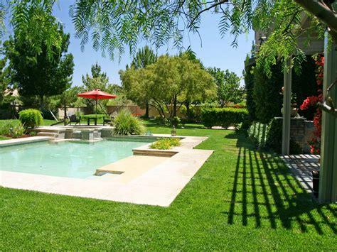 backyard with pool and garden garden with pool in backyard photos hgtv