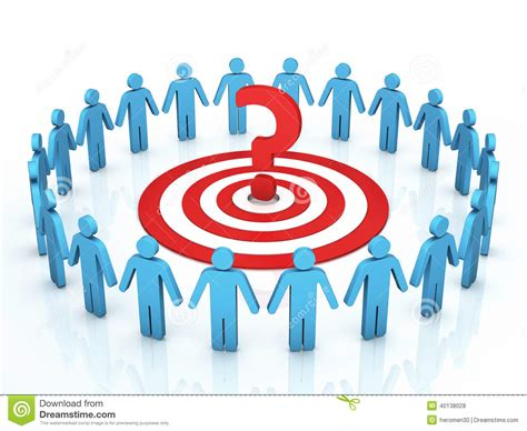 Target Gift Card Problems - teamwork target discussions problems stock illustration image 40138028