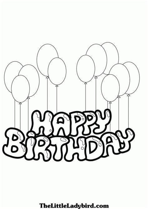 Happy Birthday Grandpa Coloring Pages - Coloring Home
