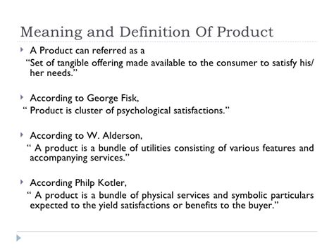 produce definition product