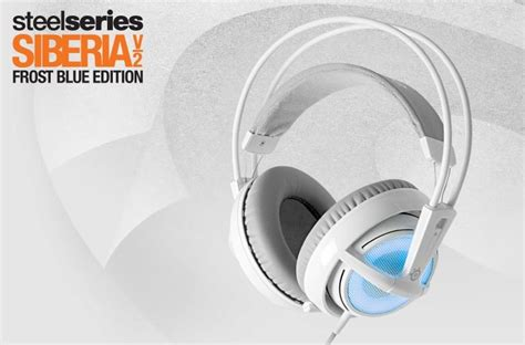 Headset Steelseries Siberia V2 Blue steelseries siberia v2 pc headset blue special