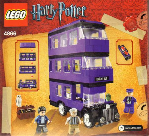 Lego 4866 The lego 4866 harry potter der fahrende ritter the