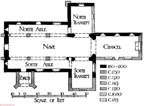 Catholic Church Floor Plan Designs by File Layout Plan Of All Saints Church Newchurch Gif