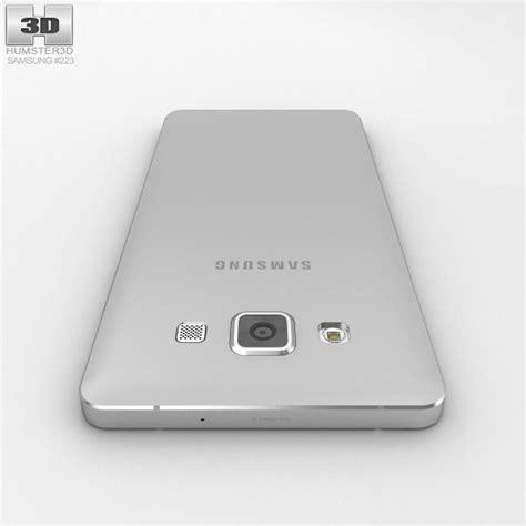 Samsung A5 Silver Samsung Galaxy A5 Platinum Silver 3d Model Humster3d